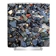 Rocks And Stones Shower Curtain