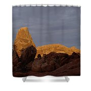 Rocks In Arches National Park Shower Curtain
