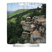 Rocks On The Rim Shower Curtain