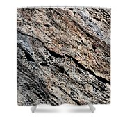 Rocks Texture Shower Curtain