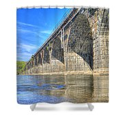 Rockville Bridge Shower Curtain