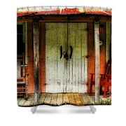 Rocky Bottom Shower Curtain