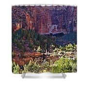Rocky Cliff - Zion Shower Curtain