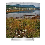 Rocky Harbour-nl Shower Curtain