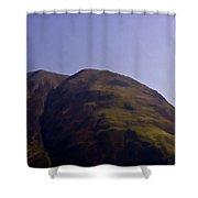Rocky Hill In The Scottish Highlands Shower Curtain