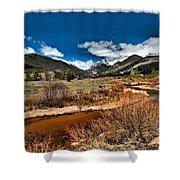 Rocky Mountain Meadows Shower Curtain