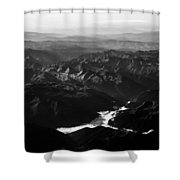 Rocky Mountain Morning Shower Curtain