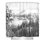 Rocky Mountain Vista Shower Curtain