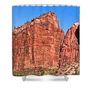 Rocky Mountains Of Zion Shower Curtain