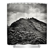 Rocky Pathway 2 Shower Curtain