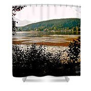 Rocky Point Port Moody Shower Curtain