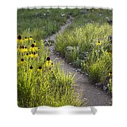 Rocky Top Trail Shower Curtain