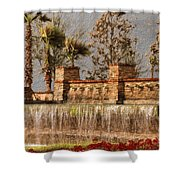 Rocky Waterscape Shower Curtain
