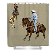 Rodeo 37 Shower Curtain