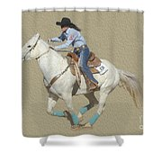 Rodeo 44 Shower Curtain