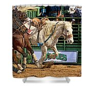 Rodeo Action Shower Curtain