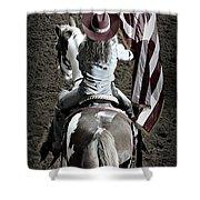 Rodeo America Shower Curtain