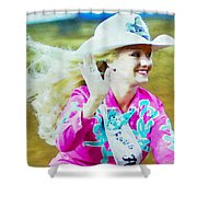 Rodeo Beauty Two Shower Curtain