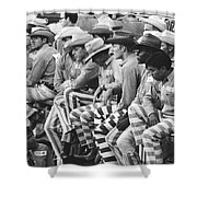 Rodeo Cowboy Prisoners Shower Curtain