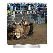 Rodeo Crunch Time Shower Curtain
