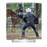 Rodeo Easy Does It Shower Curtain