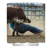 Rodeo Getting Down Shower Curtain