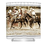Rodeo Grandentry Shower Curtain