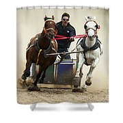 Rodeo Leader Of The Pack Shower Curtain