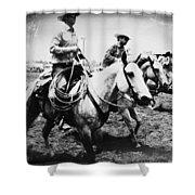 Rodeo Men Shower Curtain