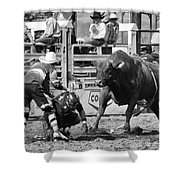 Rodeo Mexican Standoff Shower Curtain