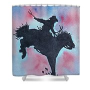 Rodeo No 1 Shower Curtain