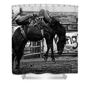 Rodeo Power Of Conviction Shower Curtain