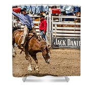 Rodeo Ride Shower Curtain