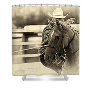 Rodeo The Cowboy Way Shower Curtain