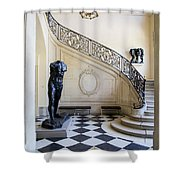 Rodin Museum Shower Curtain