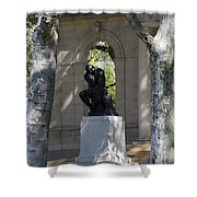 Rodin Museum - Philadelphia Shower Curtain