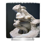 Rodin's Woman And Child Shower Curtain