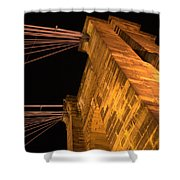Roebling Tower I Shower Curtain