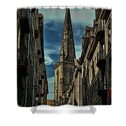 Cathedrale Saint-vincent-de-saragosse De Saint-malo Shower Curtain
