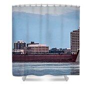 Roger Blough With Sarnia Skyline Shower Curtain