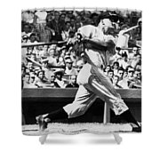 Roger Maris Hits 52nd Home Run Shower Curtain