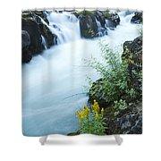 Rogue River Falls 5 Shower Curtain