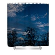 Rogue Valley Winter Eve Shower Curtain