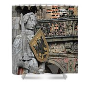 Roland Of Bremen Shower Curtain