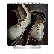 Roll Away Shower Curtain by Michelle Calkins