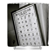 Roll Of Honour Shower Curtain