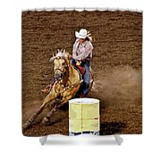 Roll Out The Barrel Shower Curtain