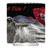 Roll Tide - 14 Time National Champions Shower Curtain