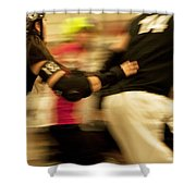 Roller Derby Shower Curtain