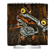 Roller Skates Vintage 4 Shower Curtain